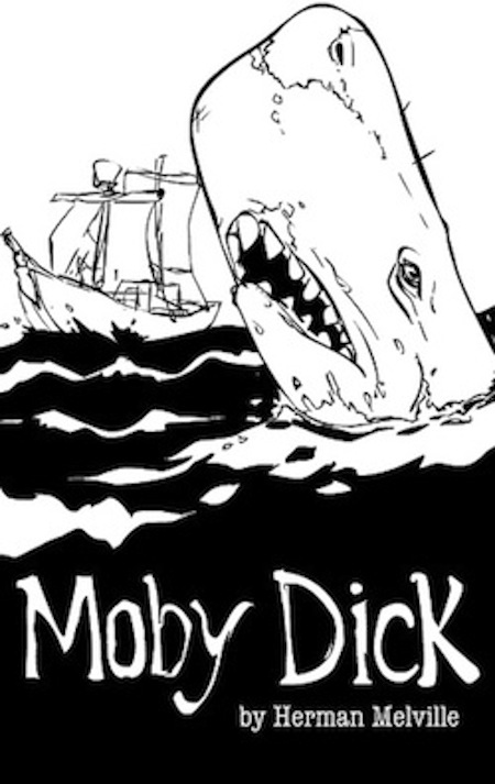 issues alibis Chevron Cyber Security moby dick book cover illustration